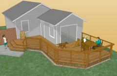 Rendering of new deck design
