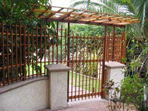 Shoji Fence and Gate