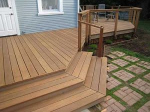 Custom deck design for Point Loma home just blocks from San Diego Harbor