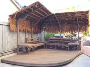 Thatched Deck Bower
